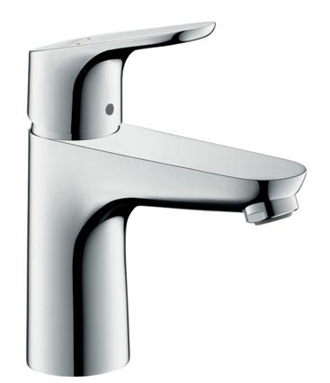 Hansgrohe FOCUS 100 mosdó csaptelep leeresztő szelep nélkül