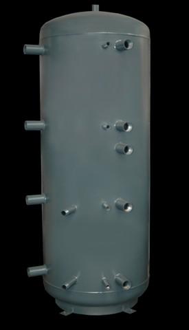 Concept 1WT-0750-00 puffertároló, 1 csőkígyóval, 750 literes, D=750mm
