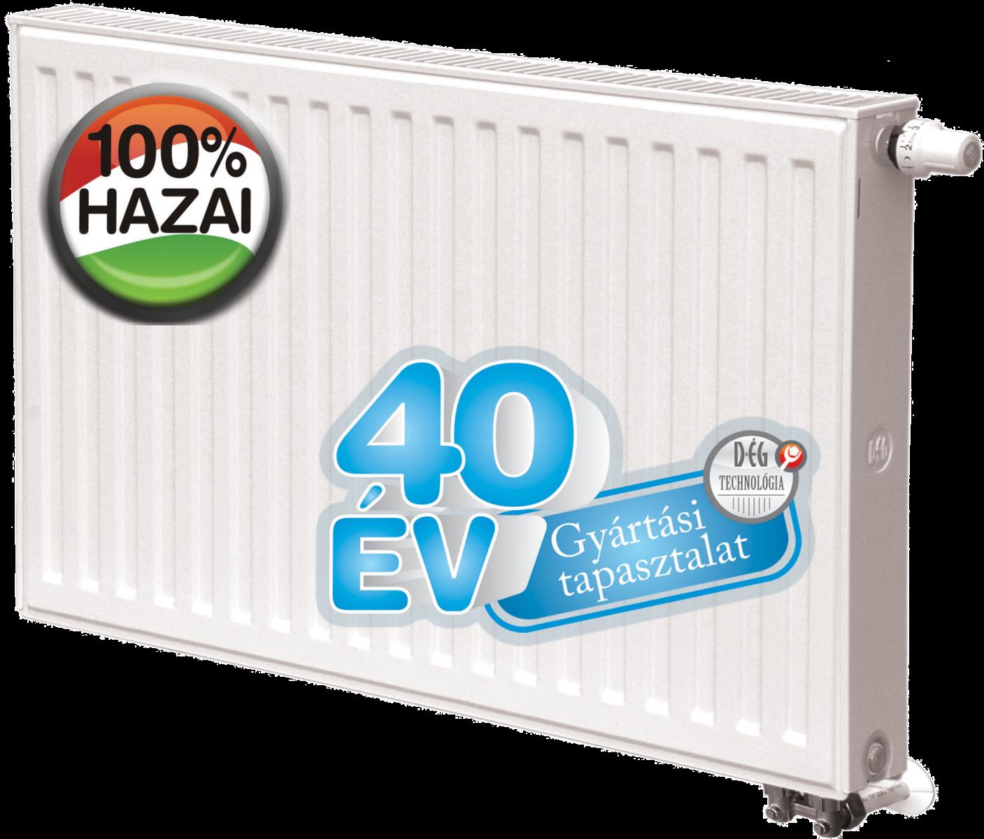 D-ÉG (Dunaferr) DK 300x1000 Lux-uNi radiátor