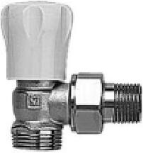 Herz GP 1/2 sarok KM radiátor szelep (kézi)