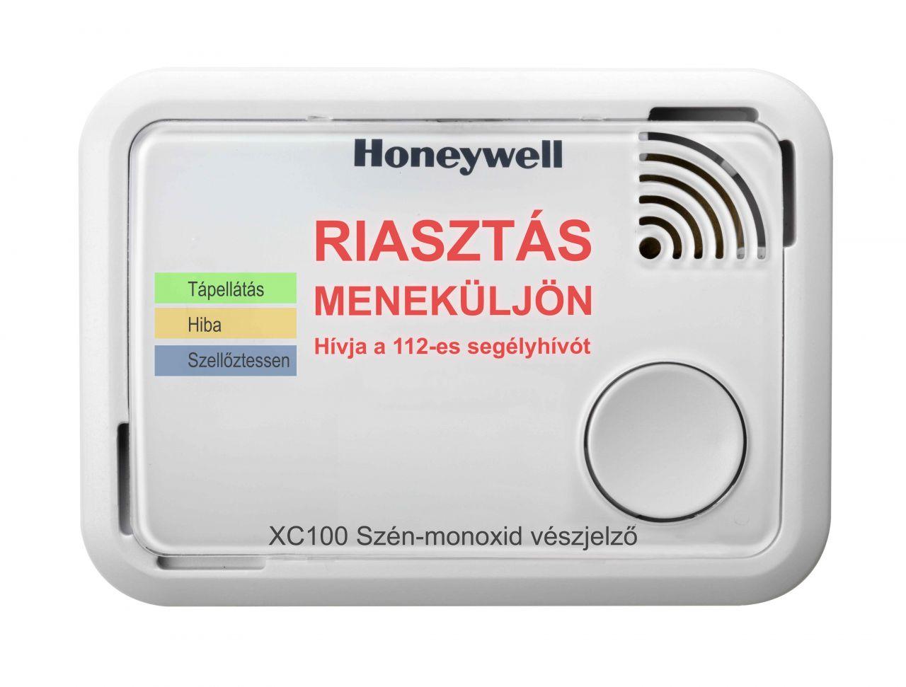Honeywell XC100 szén-monoxid vészjelző