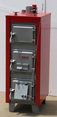 Totya(Kazi) -S- 18kW-os vegyestüzelésű lemezkazán