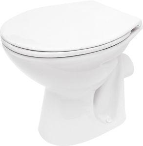 CERSANIT  President P10 WC-csésze hátsó-mély