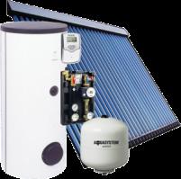 Kék Solar napkollektor csomag 4-5 fő részére