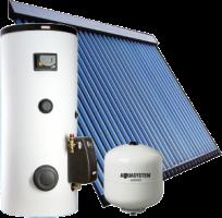 Kék Solar napkollektor csomag 4-5 fő részére Solar szettel